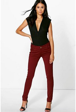 Emily Ponte Super Skinny Stretch Trousers