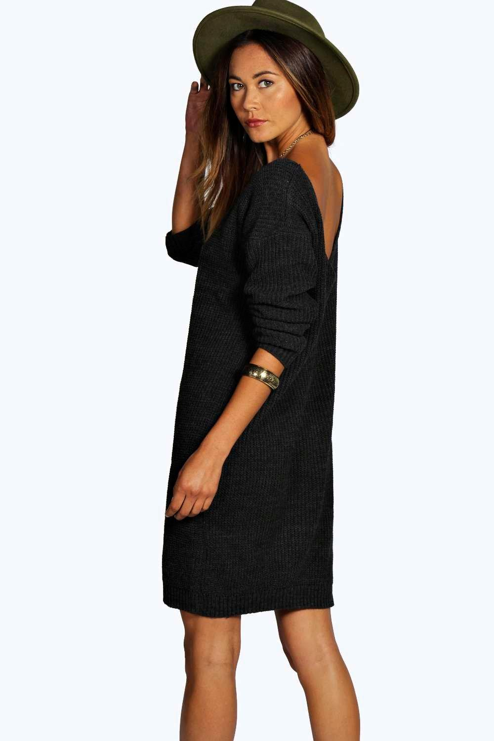 Jumper Dresses A must-have to keep chic in cold weather; the jumper dress. boohoo have a wide range of knitted dresses including ribbed midi styles, short cable knit dresses and distressed options for a grungier take on the trend.