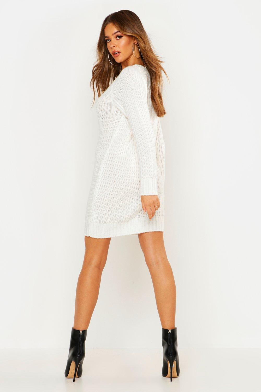 Knitting Dresses Women : Boohoo womens maria soft knit jumper dress ebay
