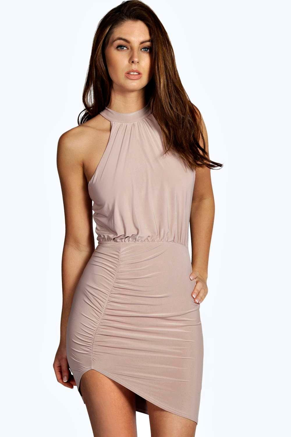 High Neck Dress for Women