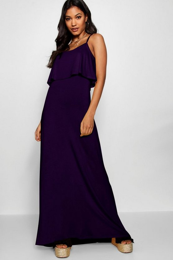Clara Tie Back Maxi Dress