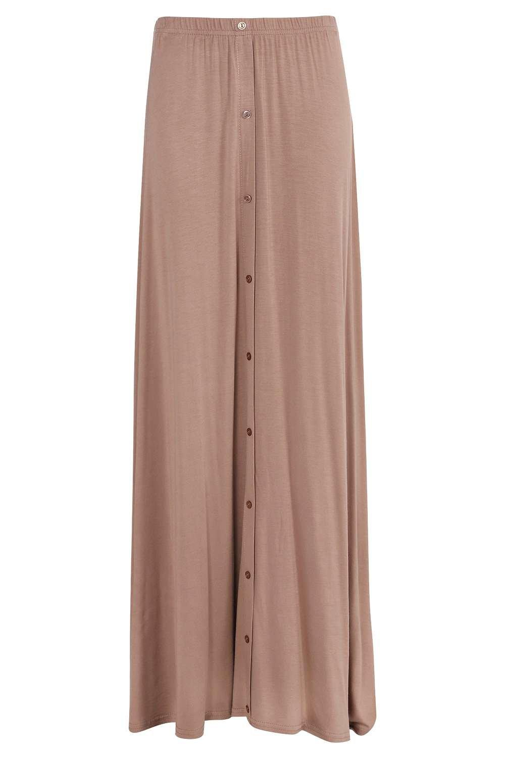 boohoo womens ruby 90 s grunge style button front maxi
