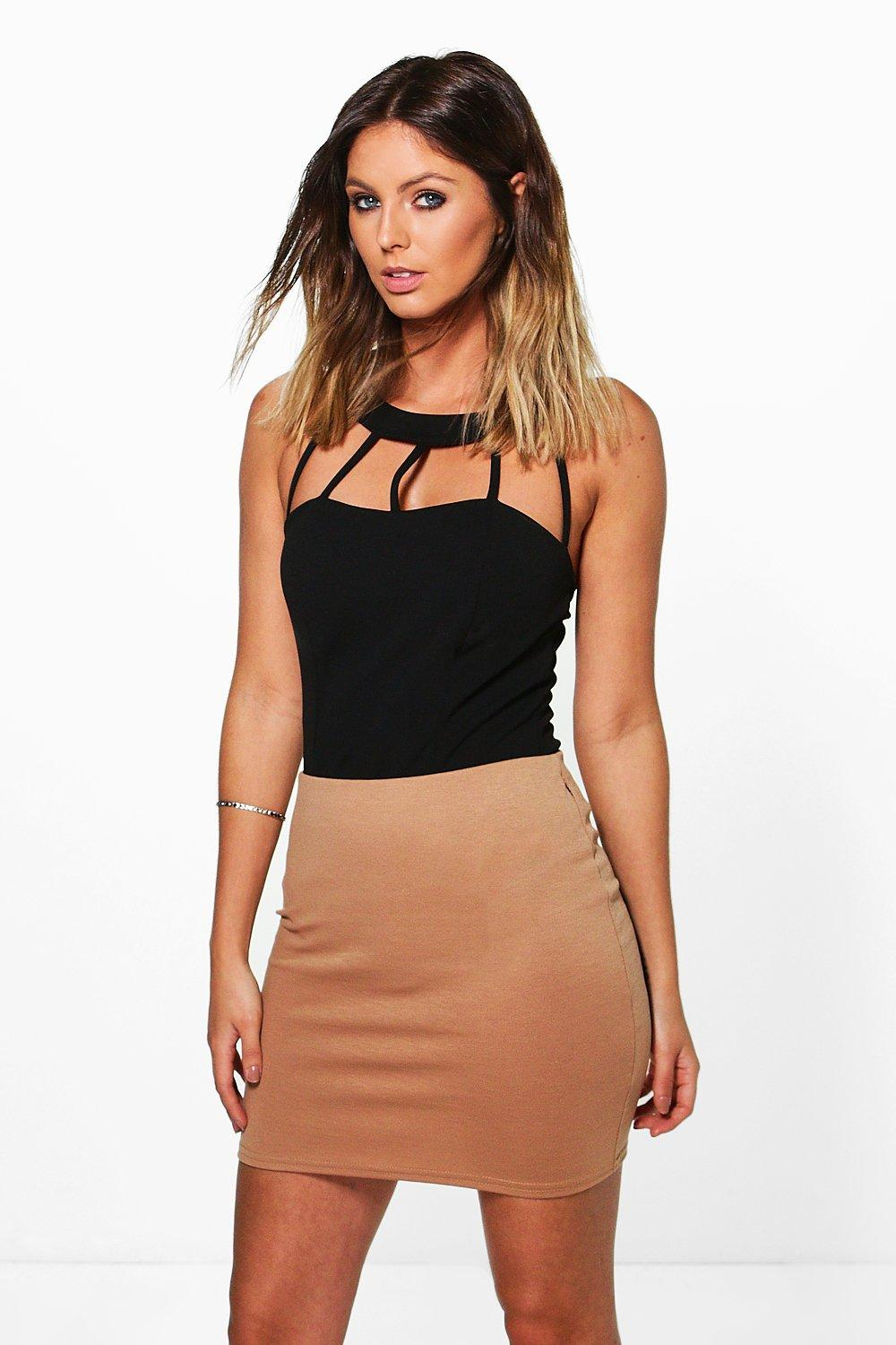 Bea Basic Ponte Mini Skirt