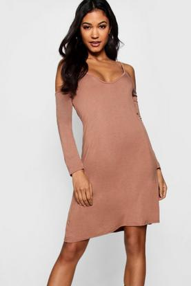 Grace Cut Out Swing Dress
