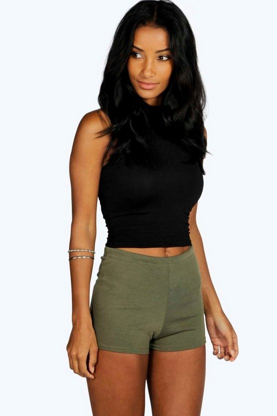 Ponte High Waisted Hotpant