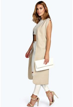 Kylie Sleeveless Coat