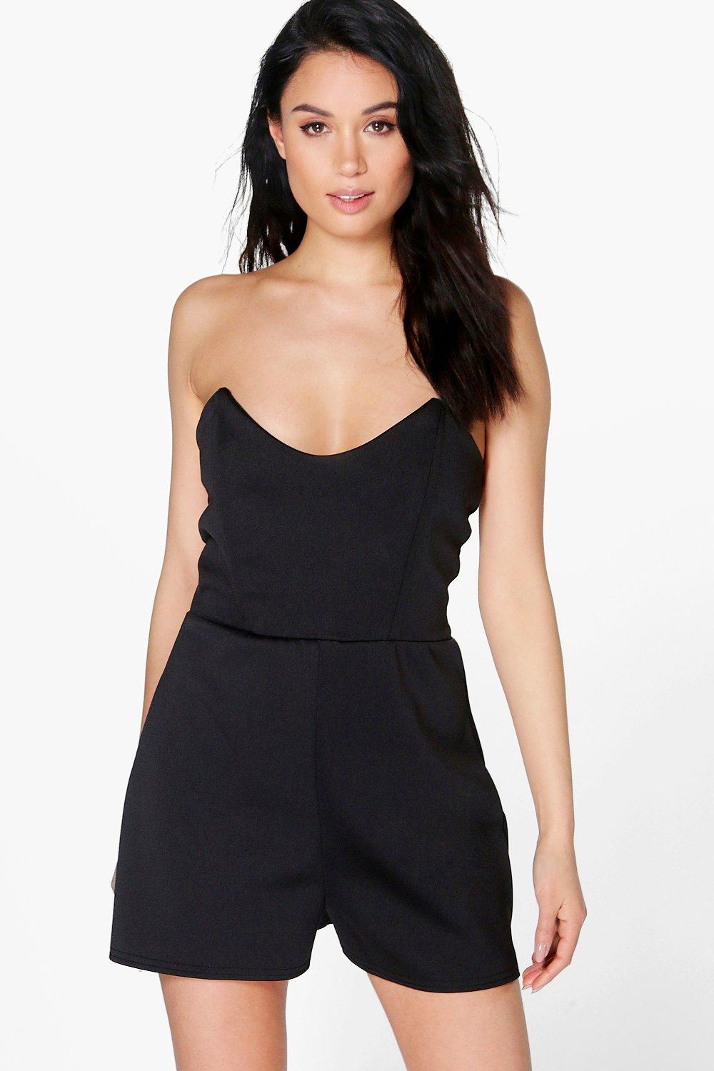 Bella Bustier Playsuit