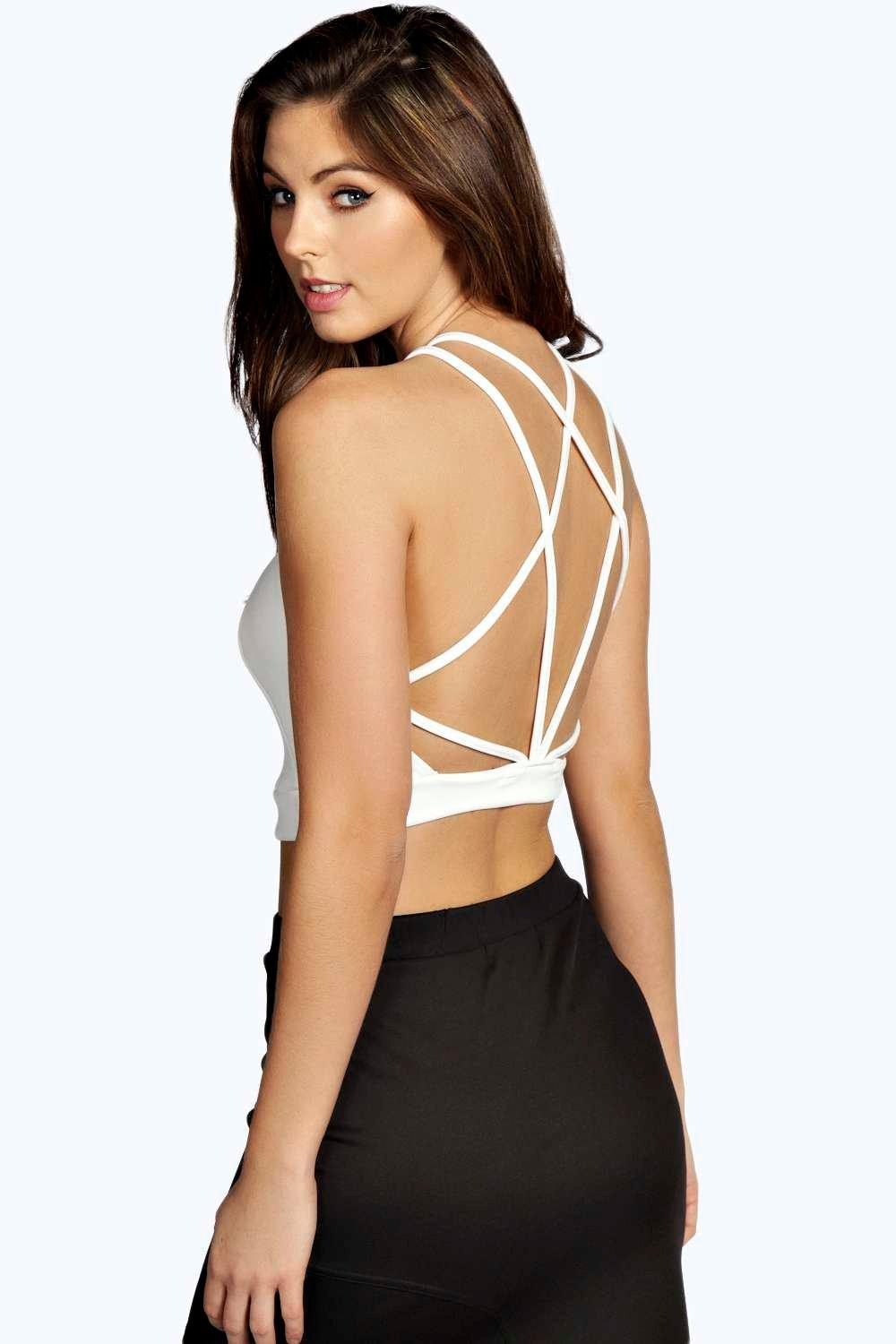 Alice Strappy Back Crop Top