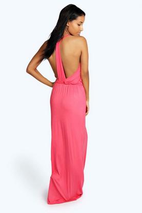 Leona Strappy Back Maxi Dress