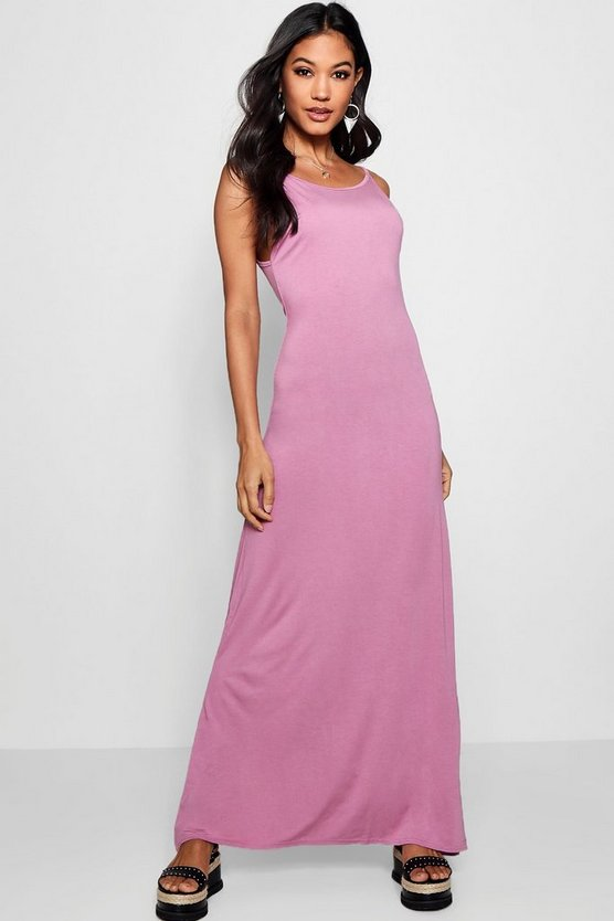 Libby Strappy Low Back Maxi Dress