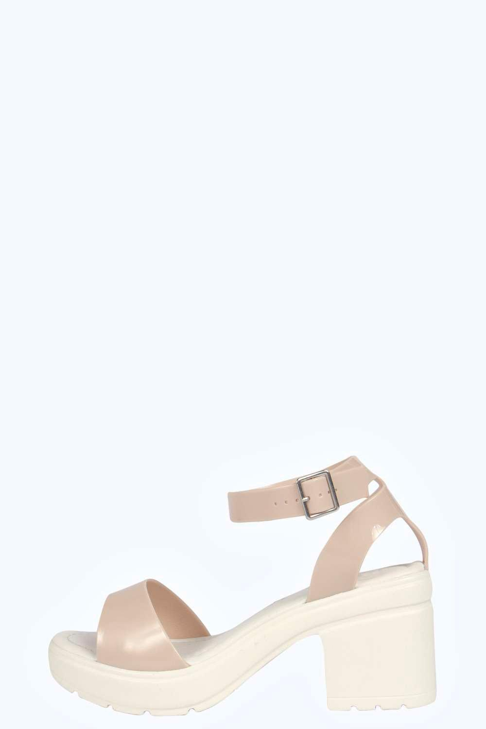Mollie Strappy Cleated Jelly Sandal