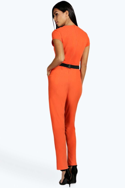 Innovative Orange Jumpsuit Women