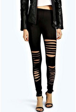 Rosie Slit Jersey Leggings
