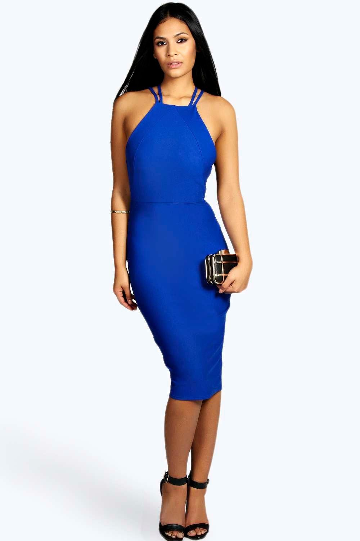 Blue Bodycon Dress Photo Album - Klarosa