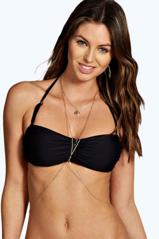 Kelly Pendant Drop Body Chain