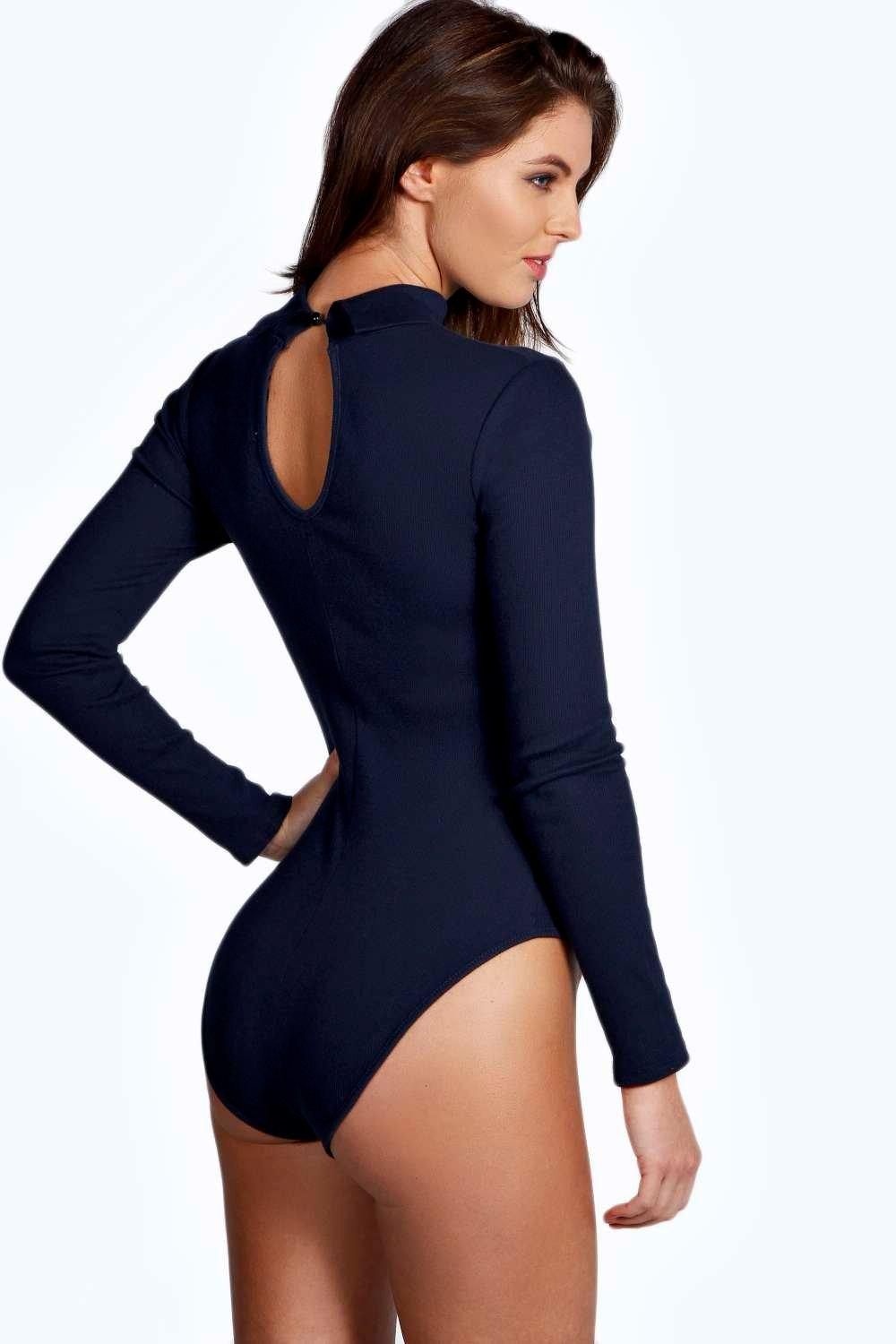 Find women's navy blue bodysuit at ShopStyle. Shop the latest collection of women's navy blue bodysuit from the most popular stores - all in one.