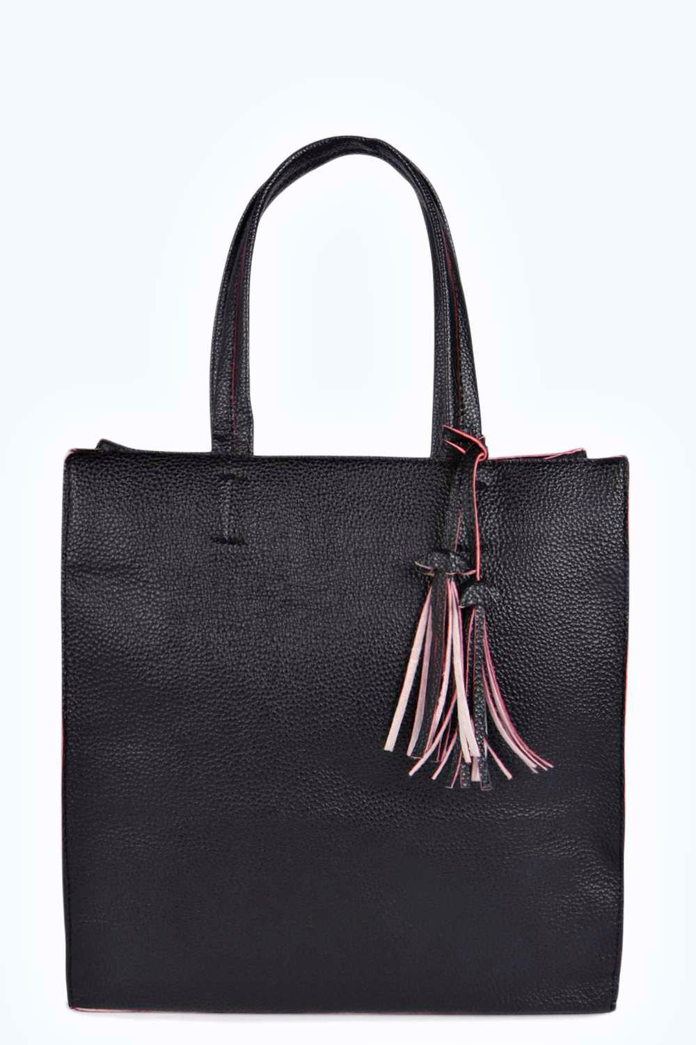Francesca Structured Shopper Bag