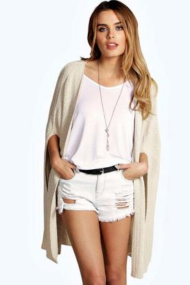 Olivia Knitted Cape Cardigan