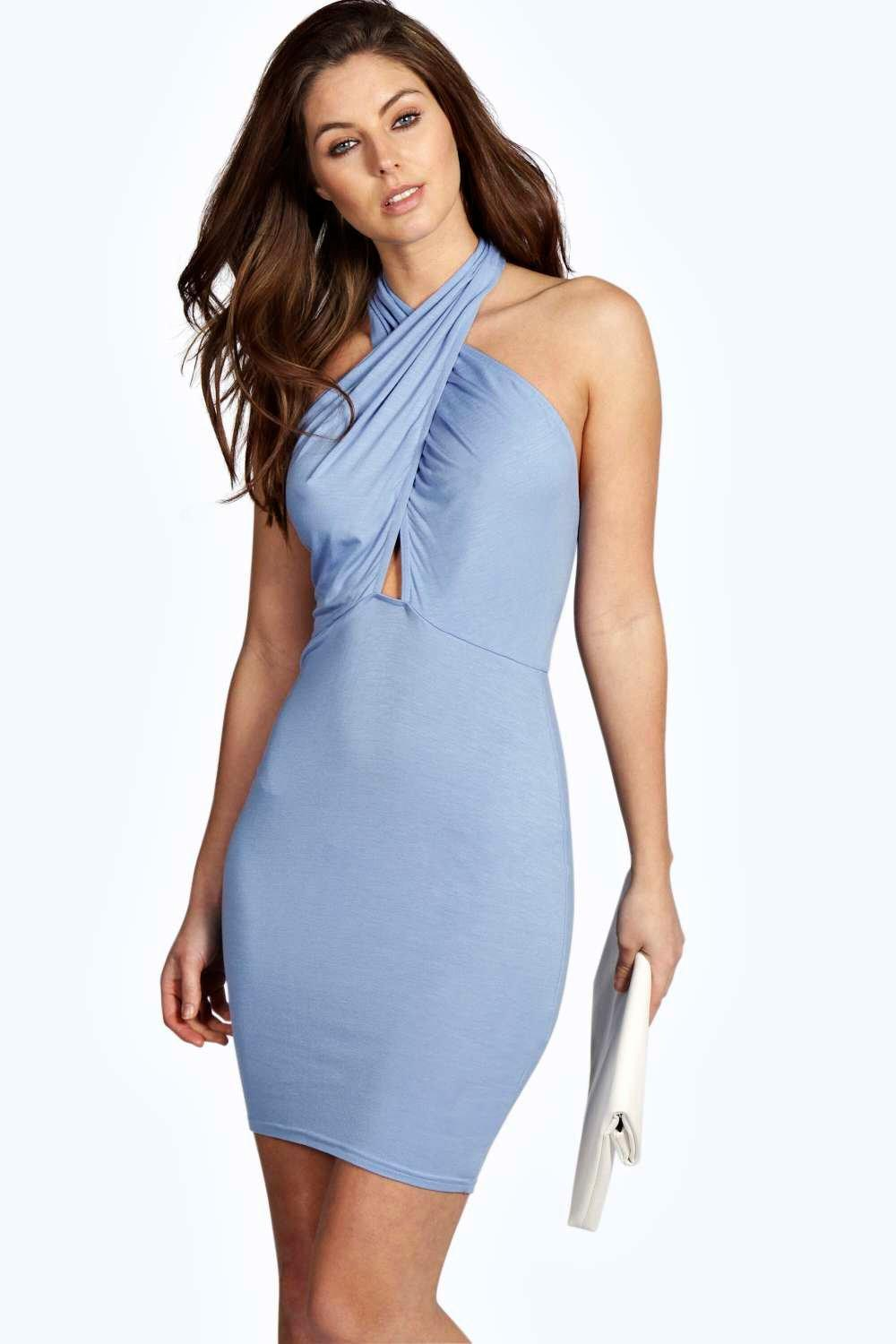 Sleeveless design, halter Neck, off shoulder dress, and you can tie a Berydress Women's Sleeveless Halter Neck A-Line Casual Party Dress. by Berydress. $ - $ $ 23 $ 34 90 Prime. FREE Shipping on eligible orders. Some sizes/colors are Prime eligible. out of 5 stars