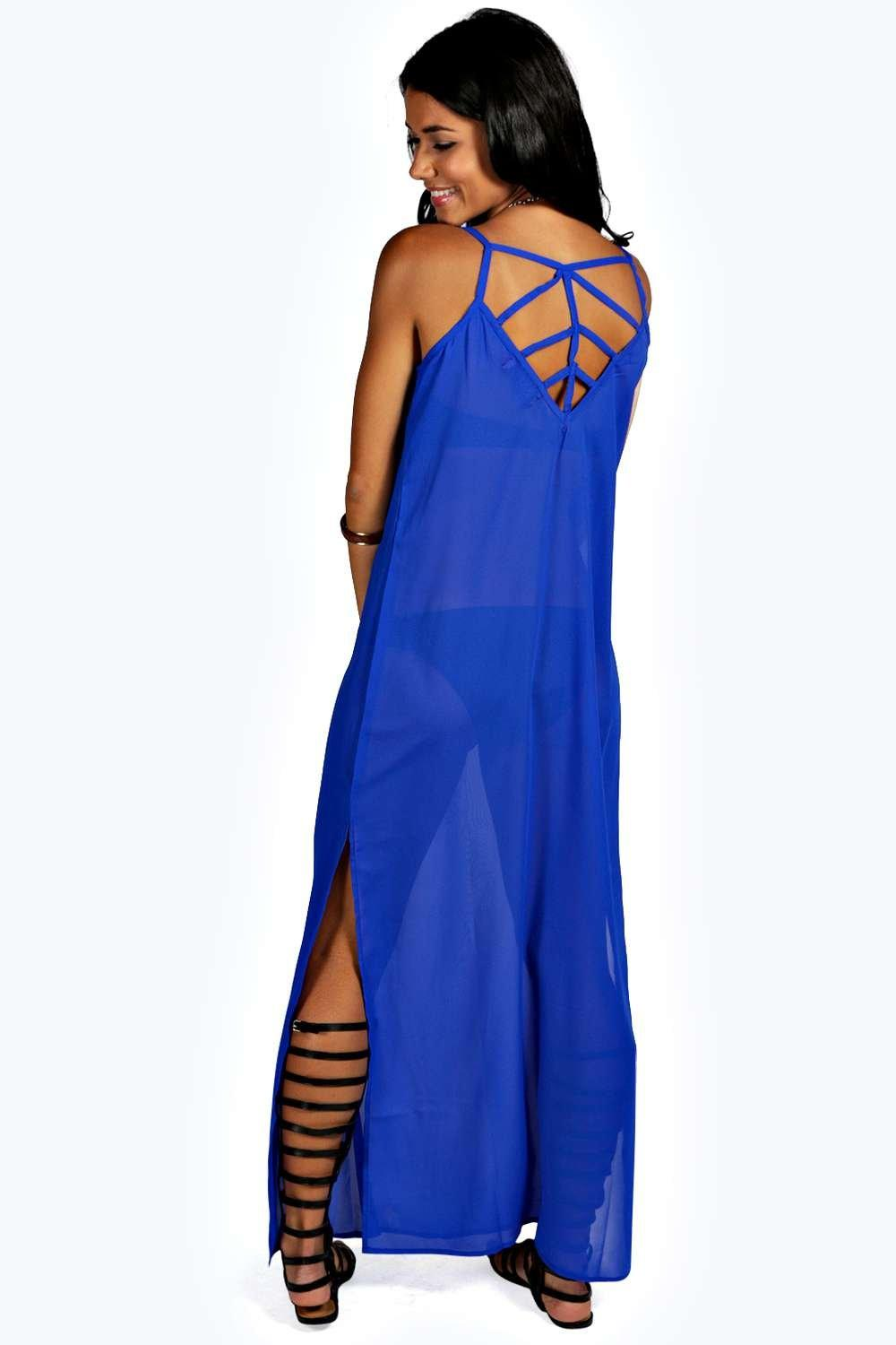 Kelly Cage Back Maxi Dress