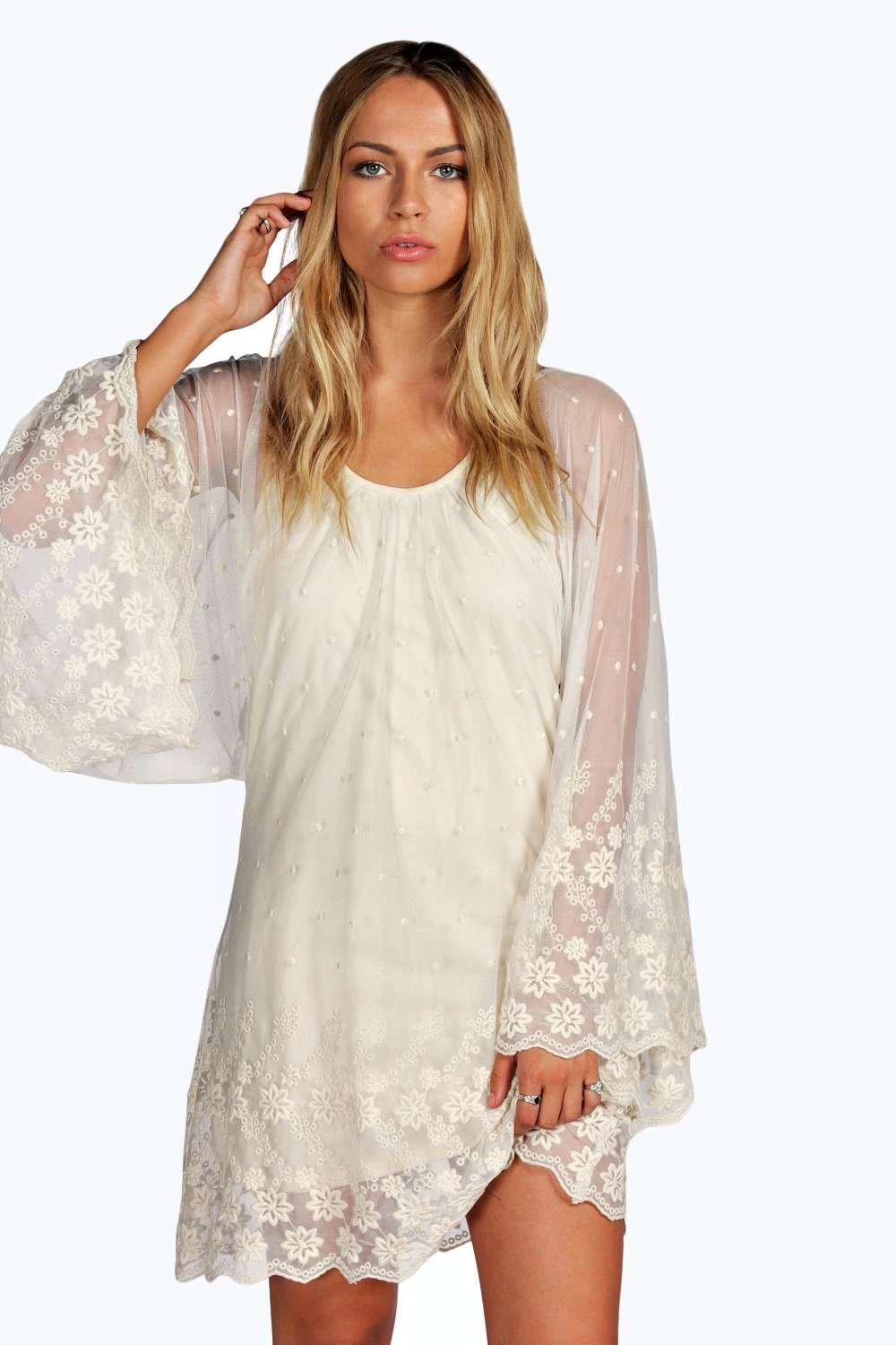 Felicity Lace Batwing Dress