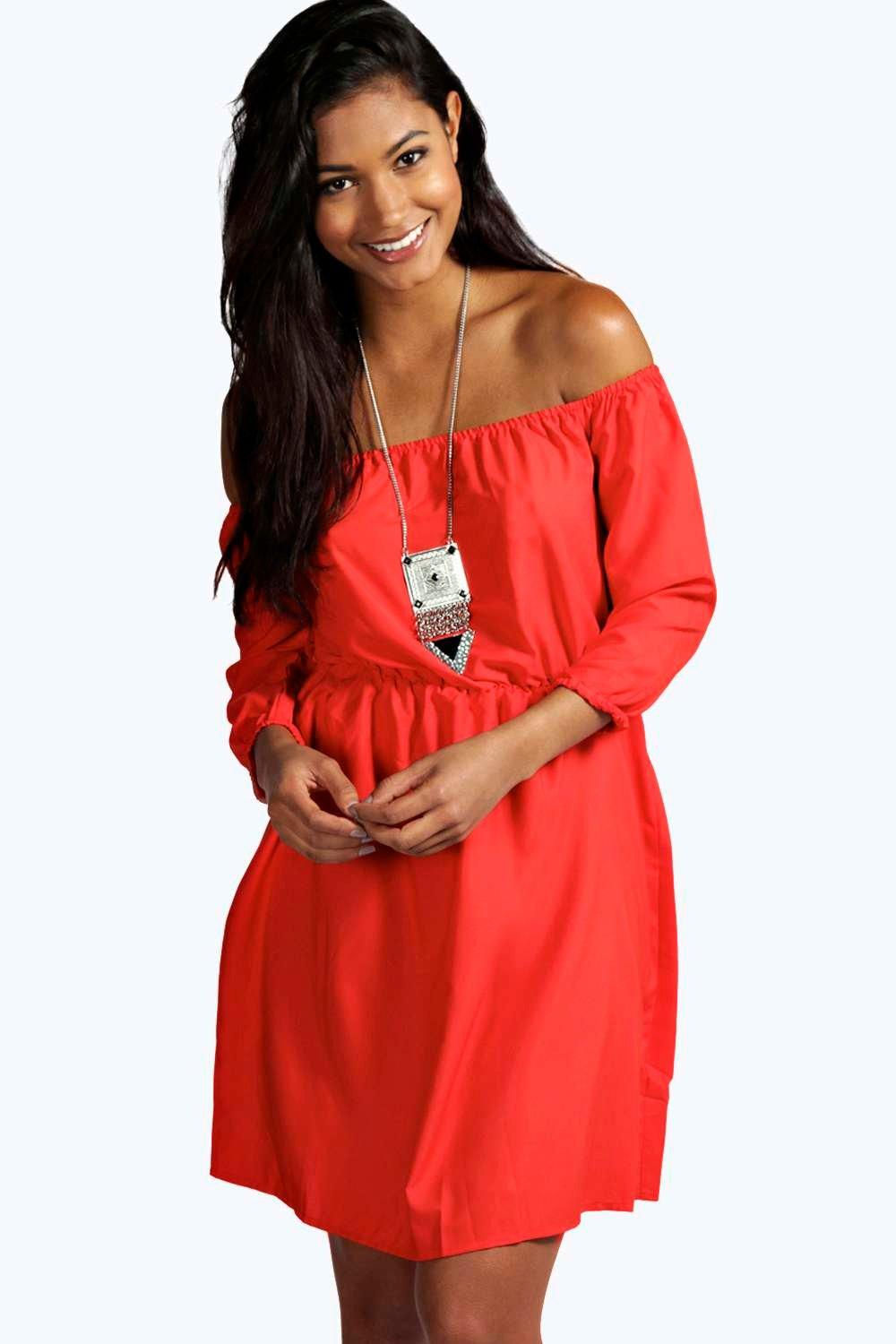 Lucie Off The Shoulder Dress
