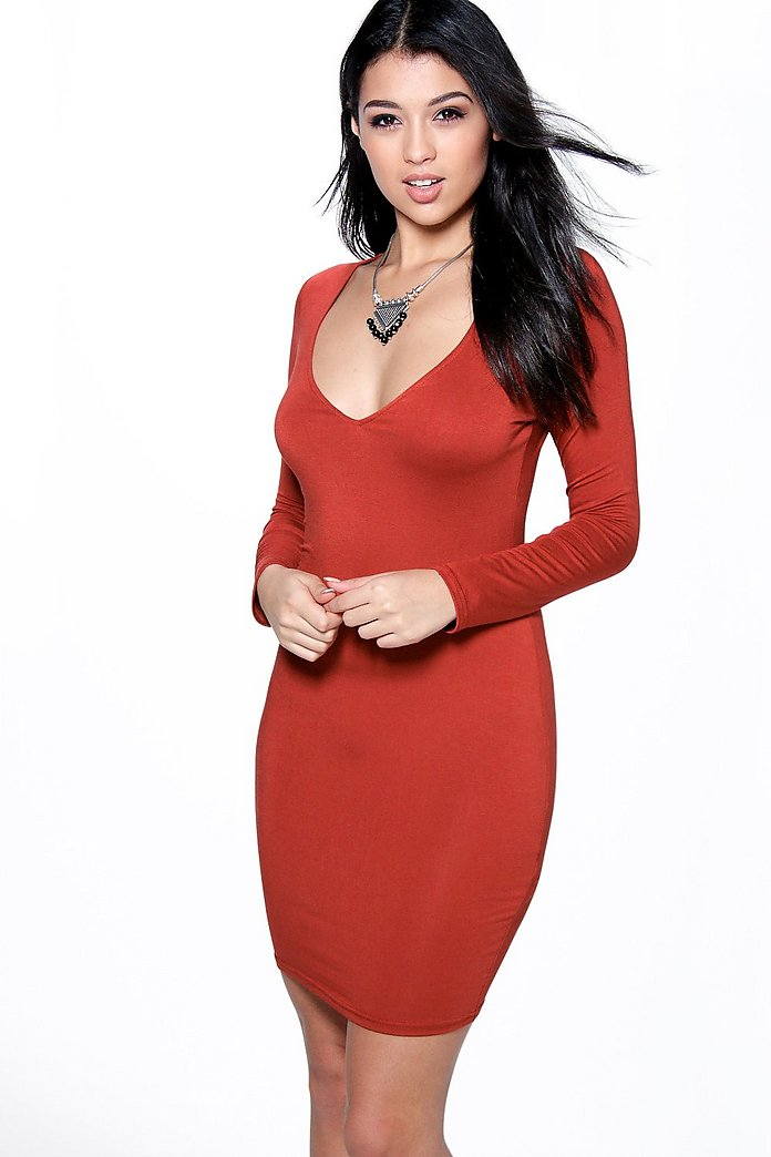 Natalie Sweetheart Bodycon Dress