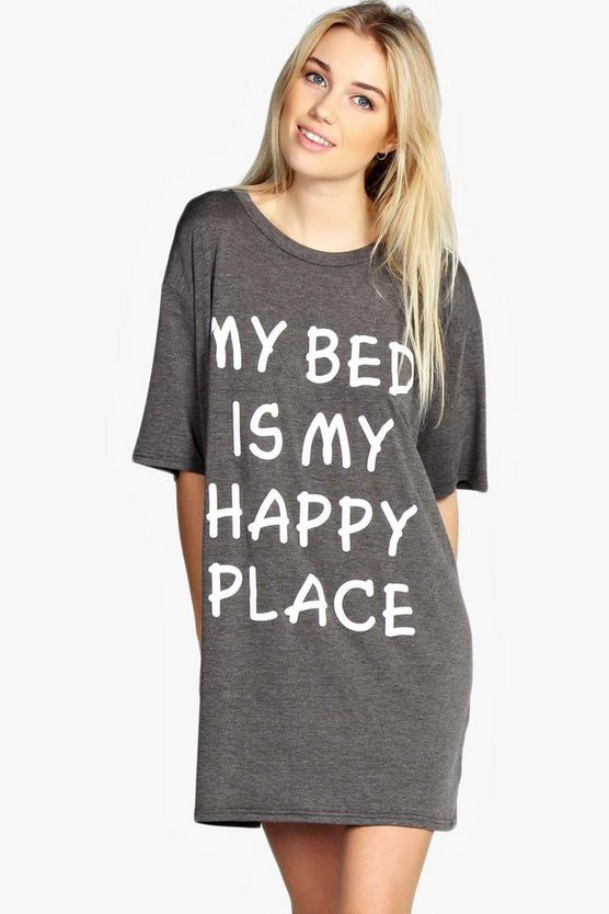 Zena Oversized Sleep Tee