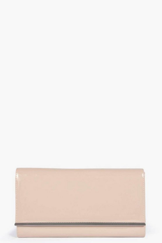 Jasmine Patent Clutch Bag