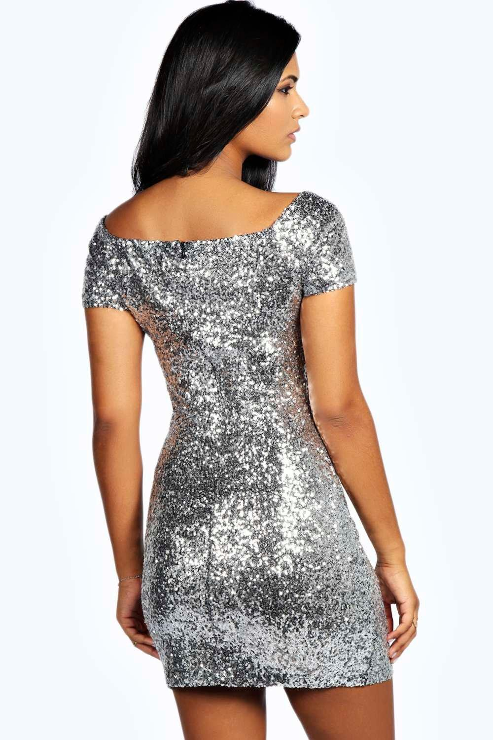 Off the Shoulder Sequin Beaded Gown is rated out of 5 by Rated 3 out of 5 by Laurenlatour from My dress fell apart I bought this dress for a new years eve wedding that I was in. I was in love with it when I received it/5(33).