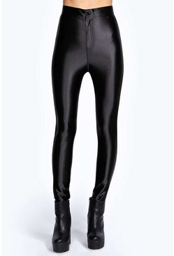 Beci High Waisted Super Skinny Disco Pants