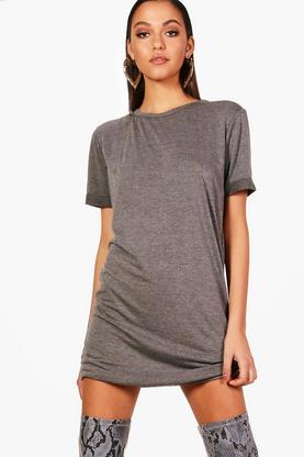 Rachel Turn Back Sleeve TShirt Dress