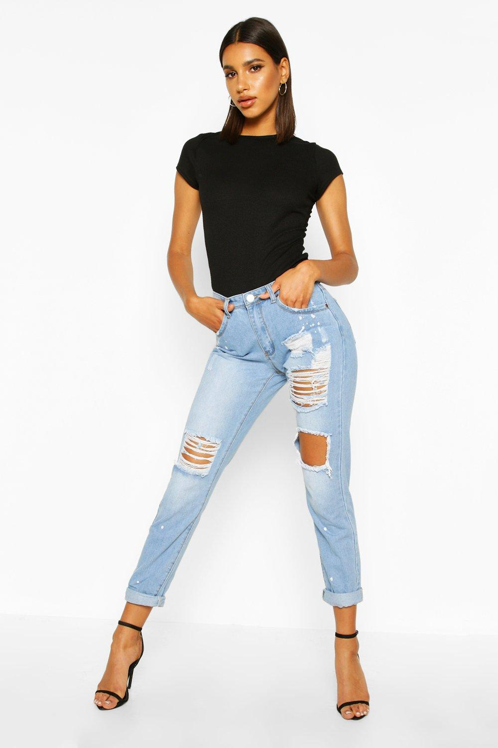 This is how to wear boyfriend jeans the right way!