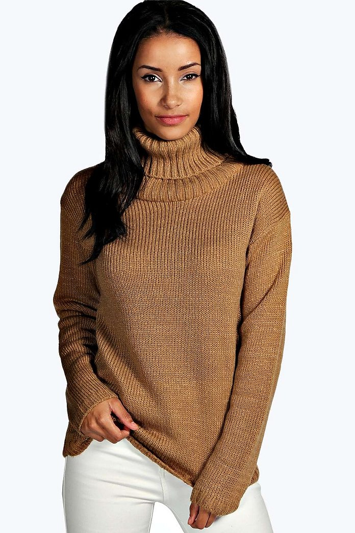 Emma Cowl Neck Soft Knit Jumper