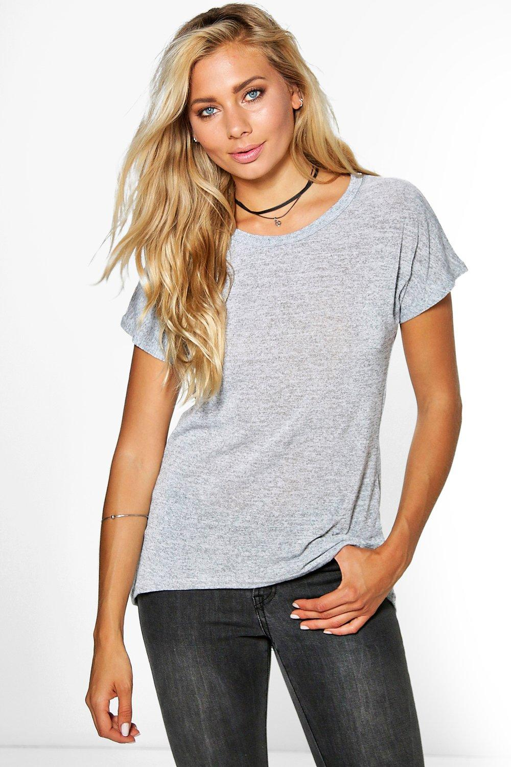 Allison Knitted Boxy Tee