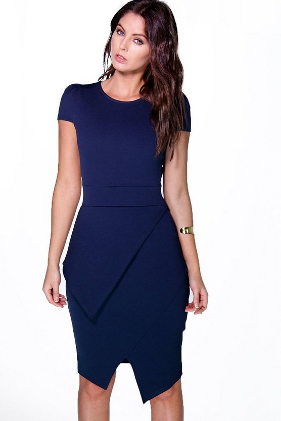 Laura Wrap Skirt Bodycon Dress