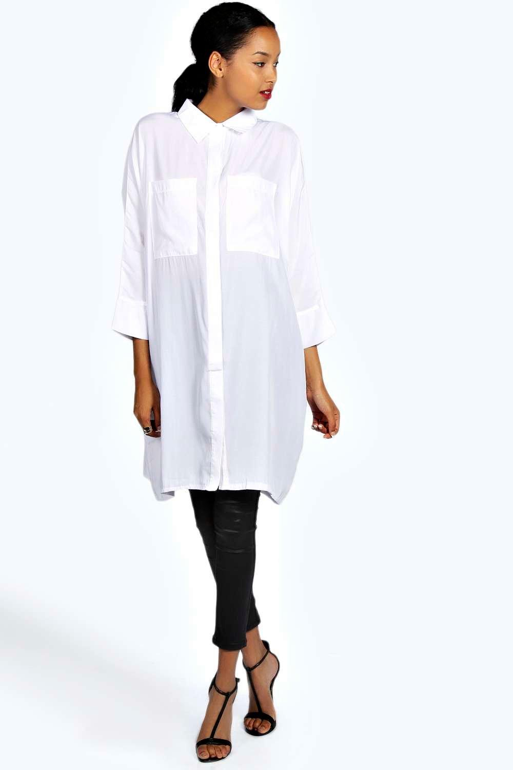 Vanessa 3/4 Oversized Shirt