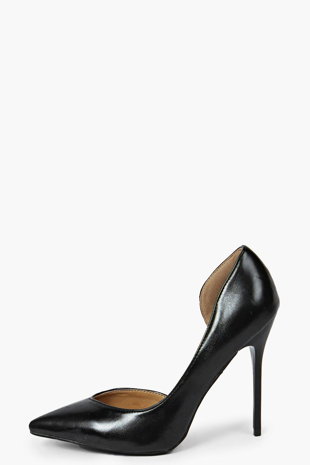 Rose Pointed Asymmetric Heels