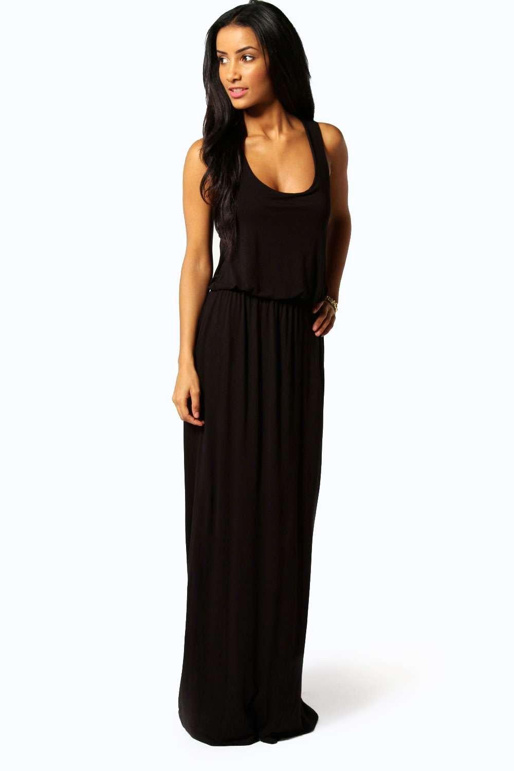 Petite Alice Racer Back Maxi Dress