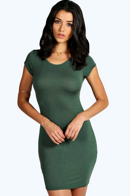 Clare Cap Sleeve Bodycon Dress