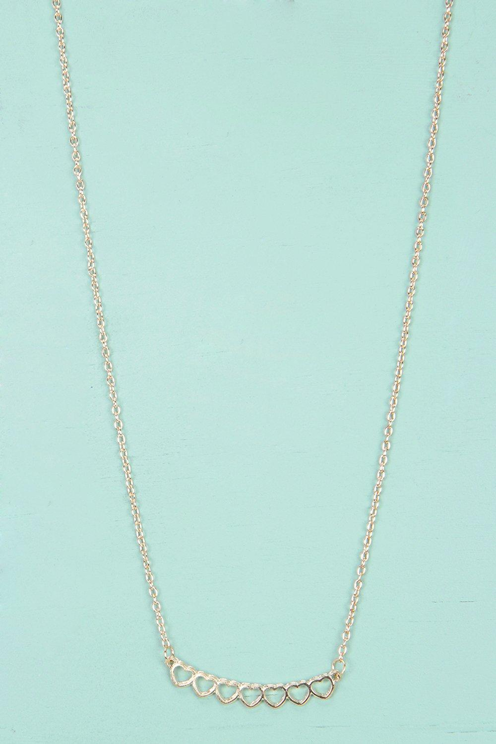 Charlotte Heart Chain Necklace