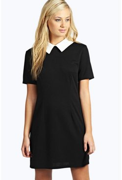 Robin Contrast Collar Dress