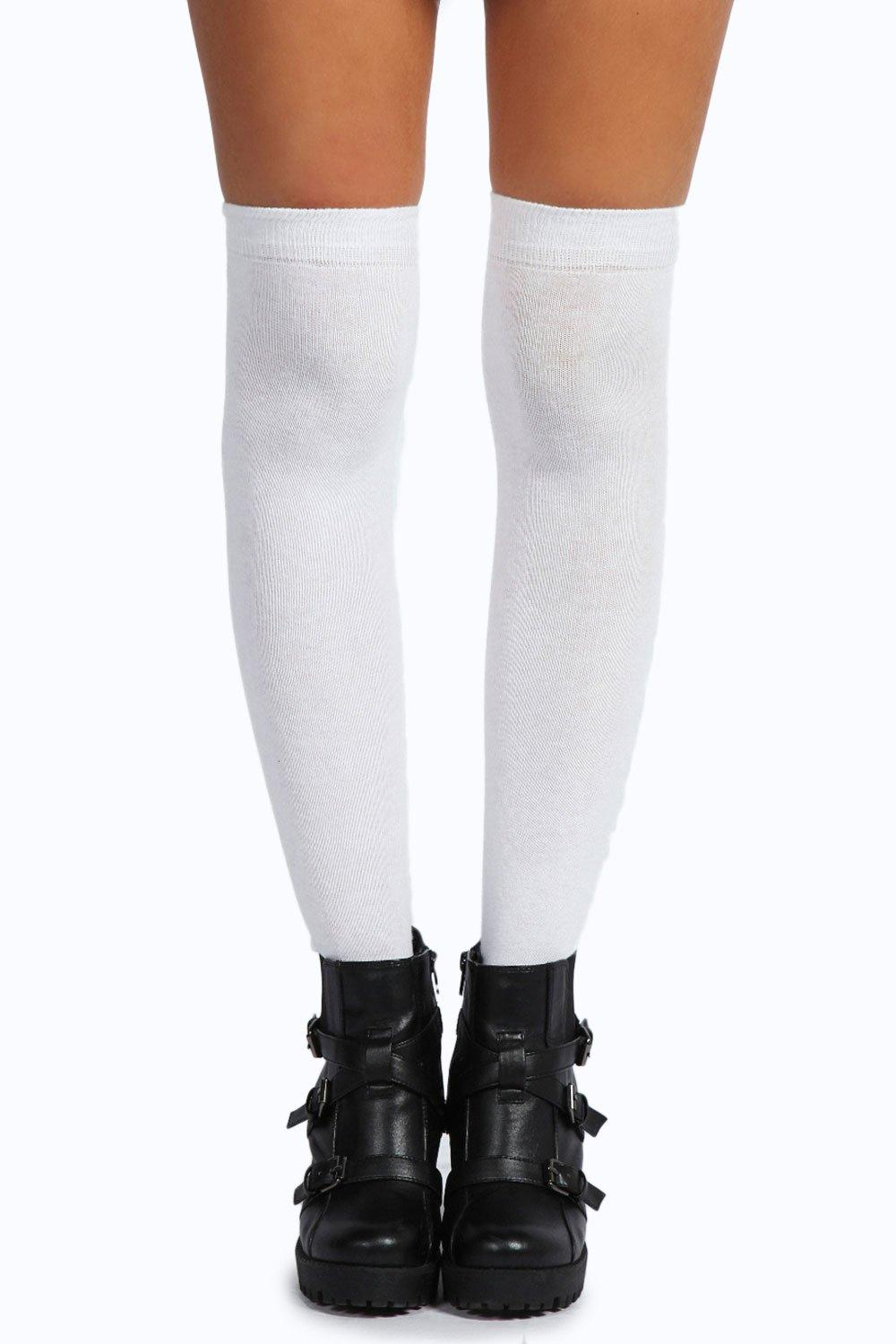Knee High Socks white