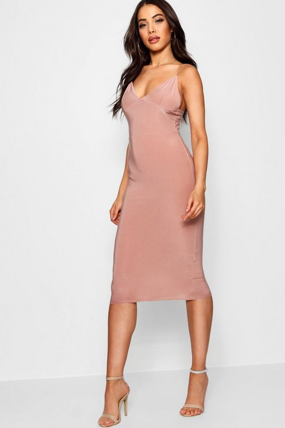 Karen Slinky Bodycon Midi Dress