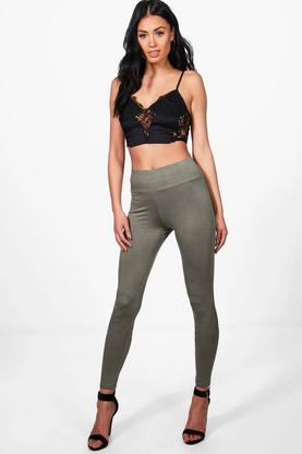 Larah Basic High Waist Viscose Leggings