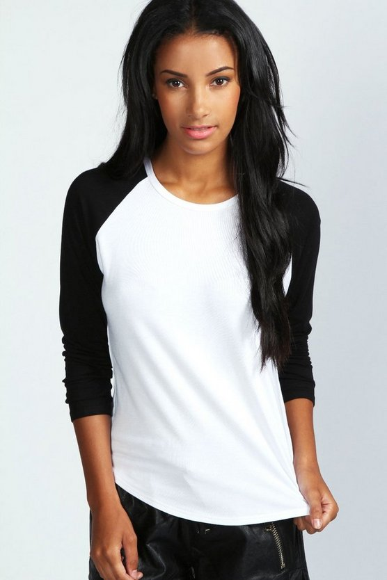 Kiera Oversized Baseball T Shirt