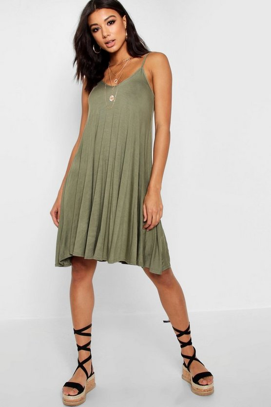 Dahlia Basic Swing Dress