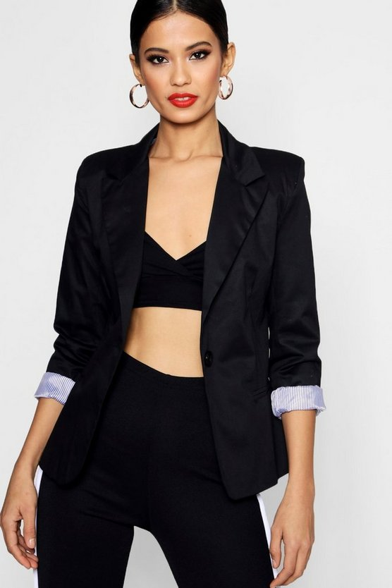 Colour Block Blazer