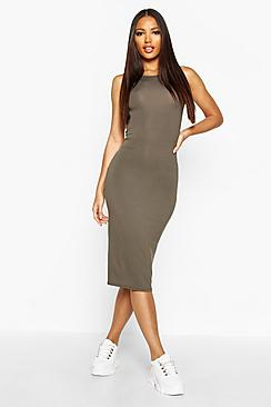 Lindsey Sleeveless Midi Dress