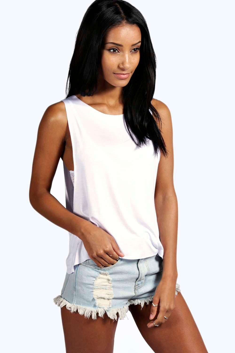 Catherine Basic Drop Arm Vest